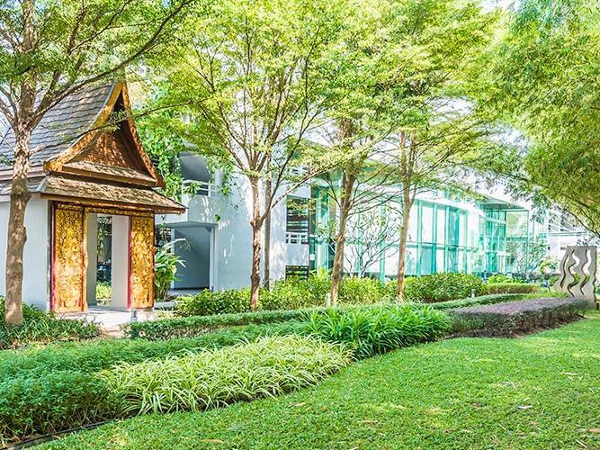 Exterior View of at Chatrium Residence Riverside Bangkok
