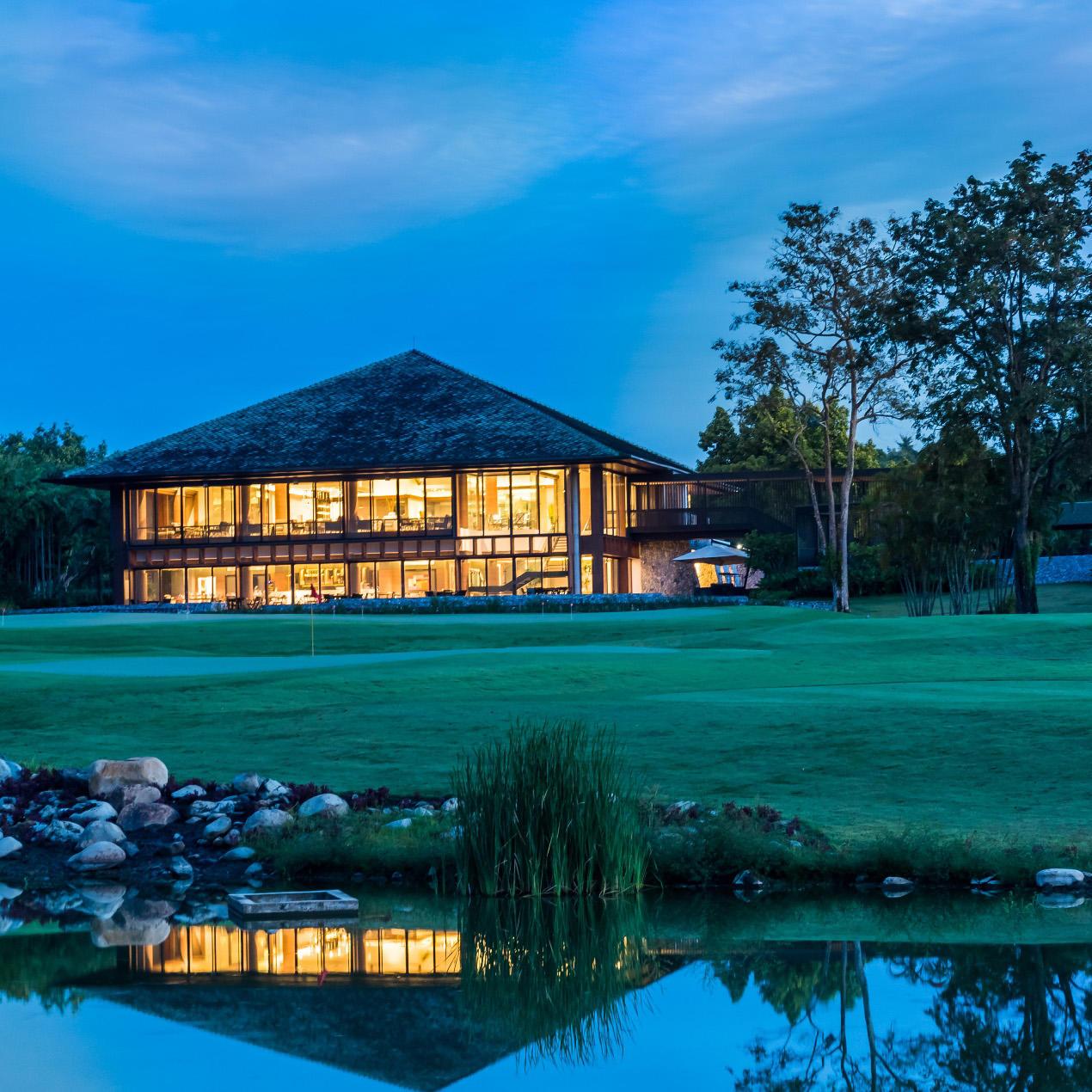 Exterior View of at Chatrium Golf Resort Soi Dao Chanthaburi