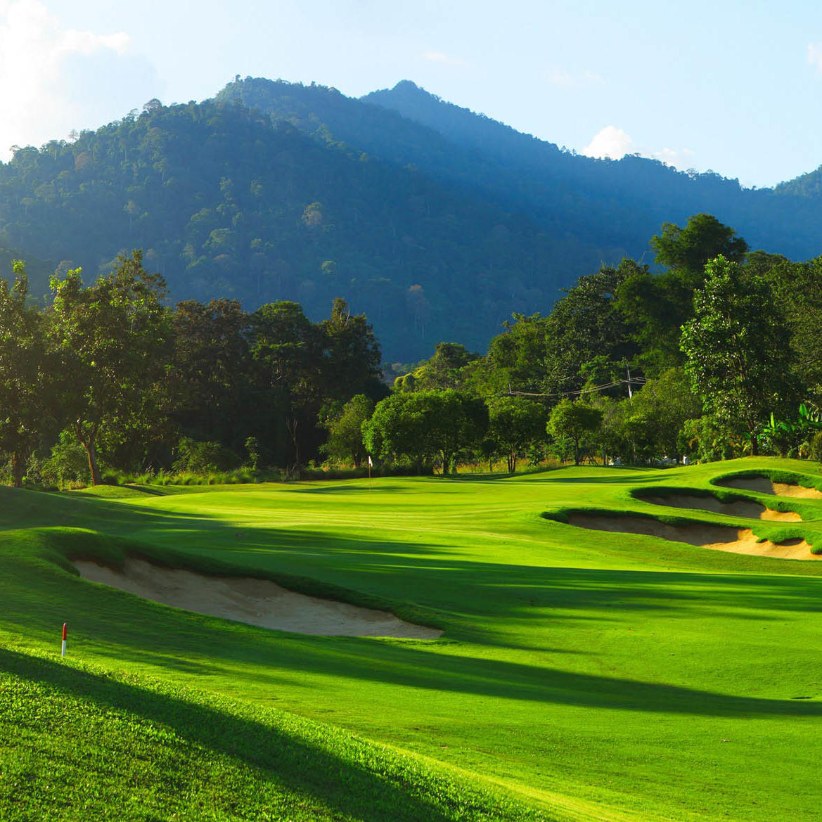 Landscape View of at Chatrium Golf Resort Soi Dao Chanthaburi