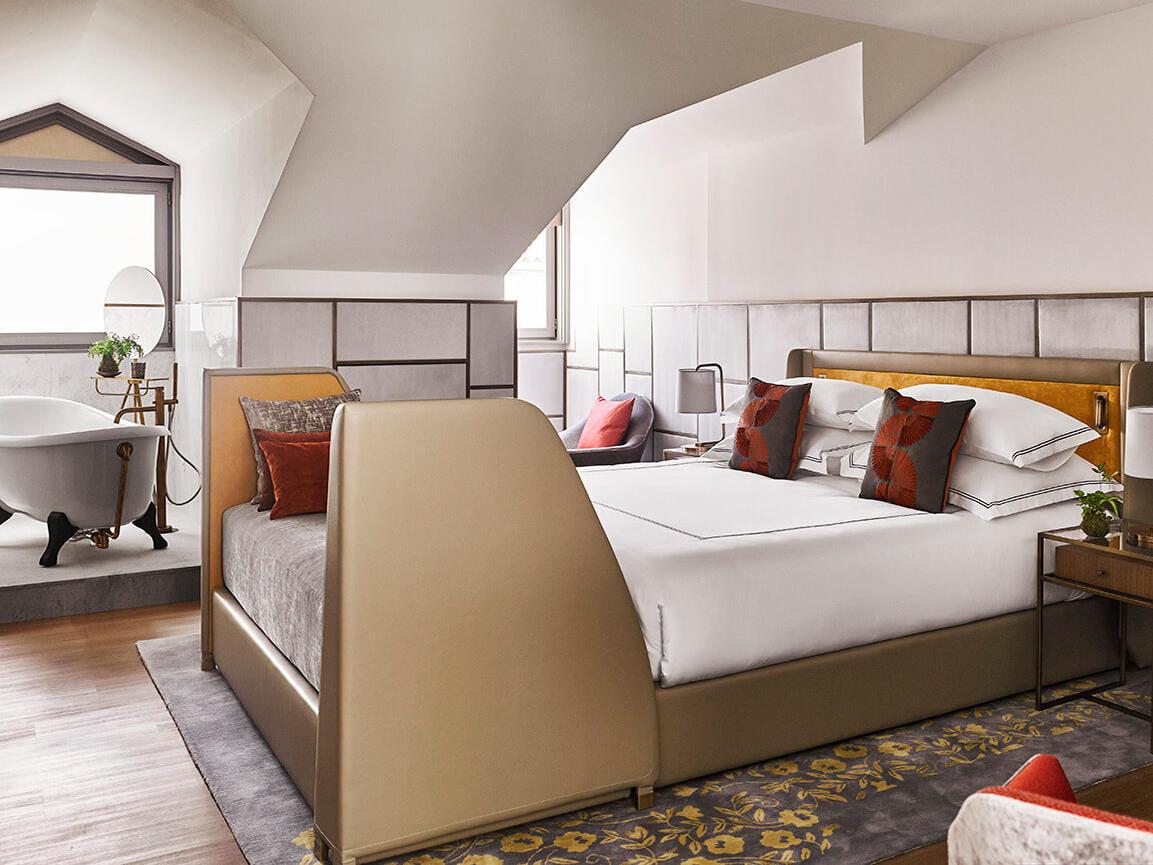 lujosas habitaciones
