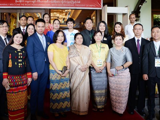 Group photo taken with the award at Chatrium Hotel Royal Lake