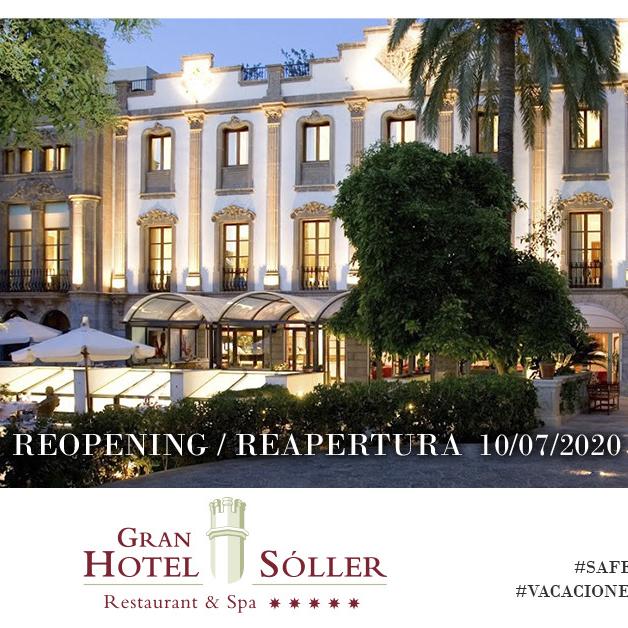 Wiedereröffnung des Gran Hotel Soller | 10. Juli 2020