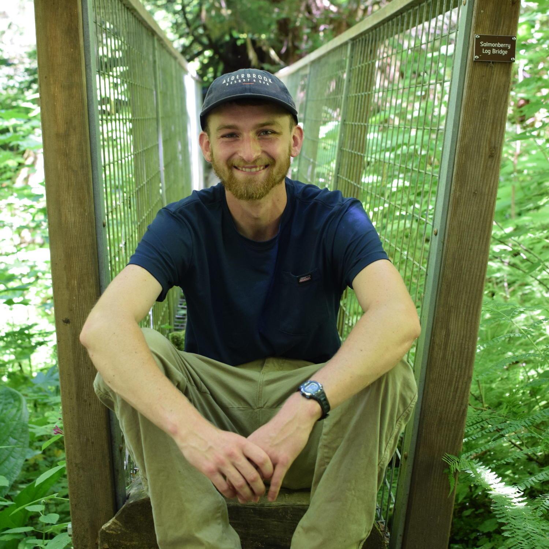 Morgan Scherer, the Trails Steward at Alderbrook Resort & Spa