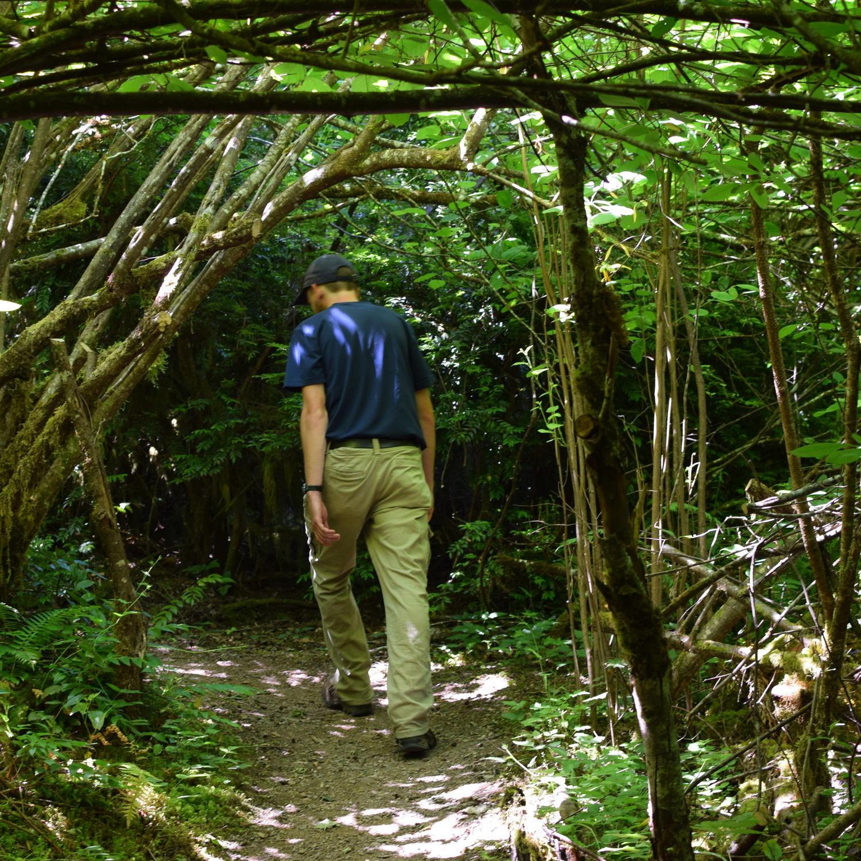 An Adventure walk with Morgan at Alderbrook Resort & Spa