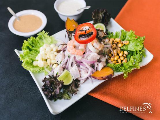 platos de la comida criolla