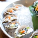 Oysters served at St. James Hotel