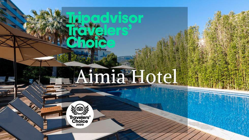 Tripadvisor-Award Aimia hotel 2020