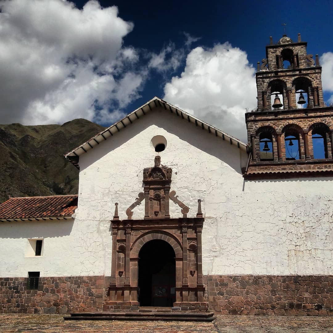 Exterior view of The Andean Baroque Route near Hotel Sumaq