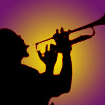 man playing jazz instrument