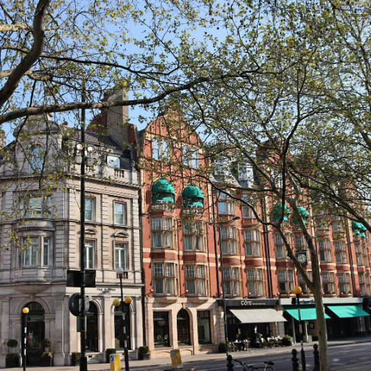 General view of the hotel at Sloane Square Hotel
