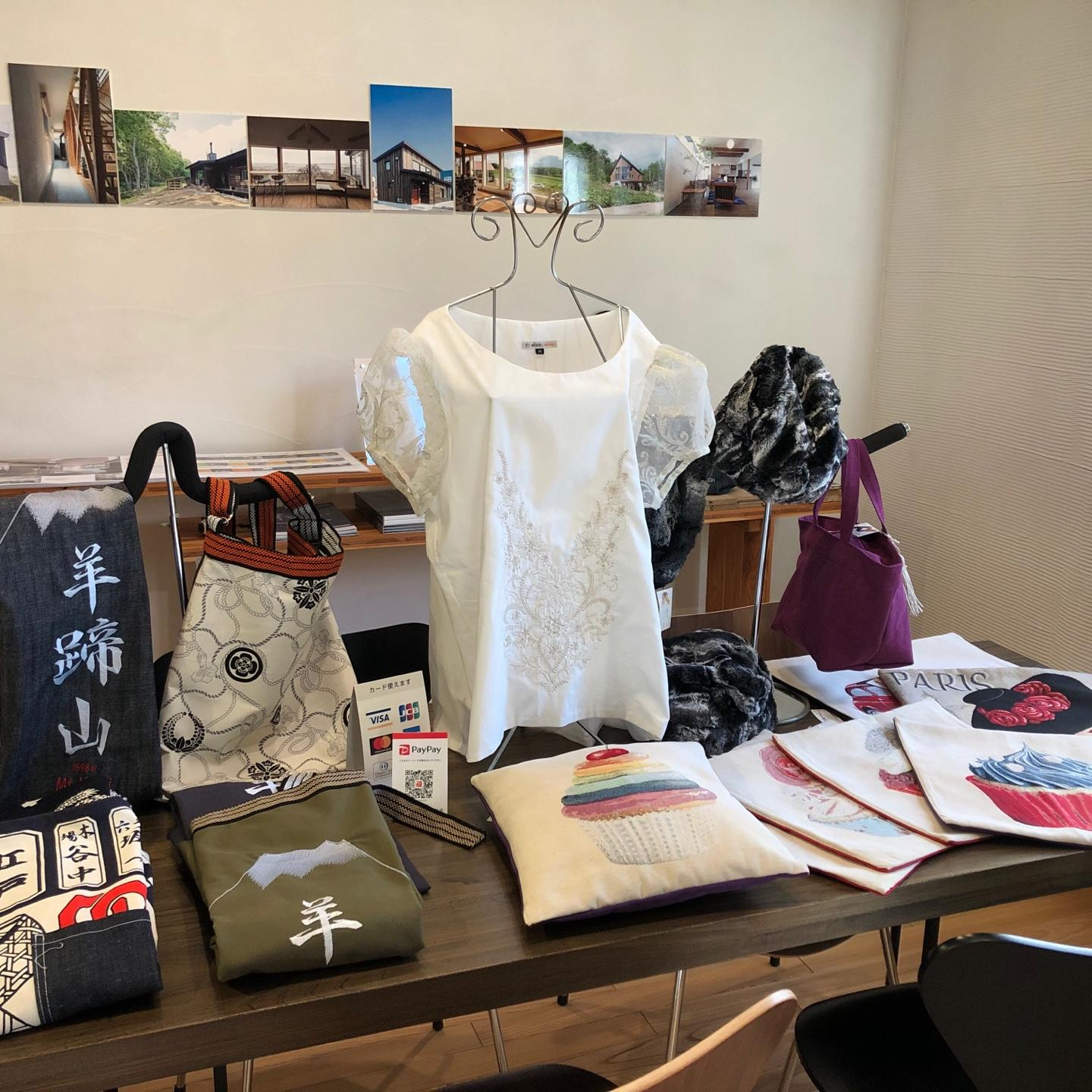 View of some Exhibition items at Chatrium Niseko Japan