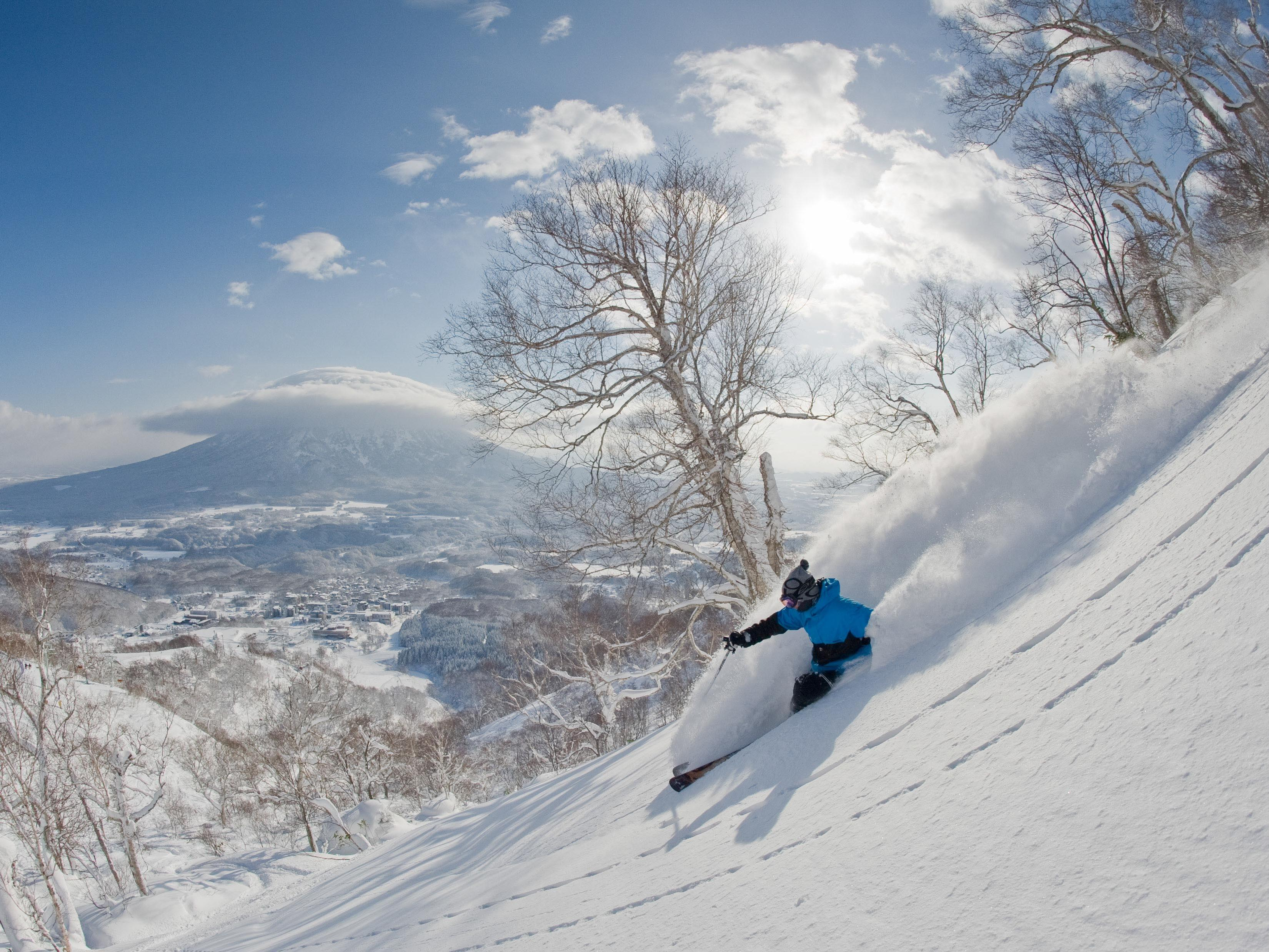 A view of snowfield at Chatrium Niseko Japan