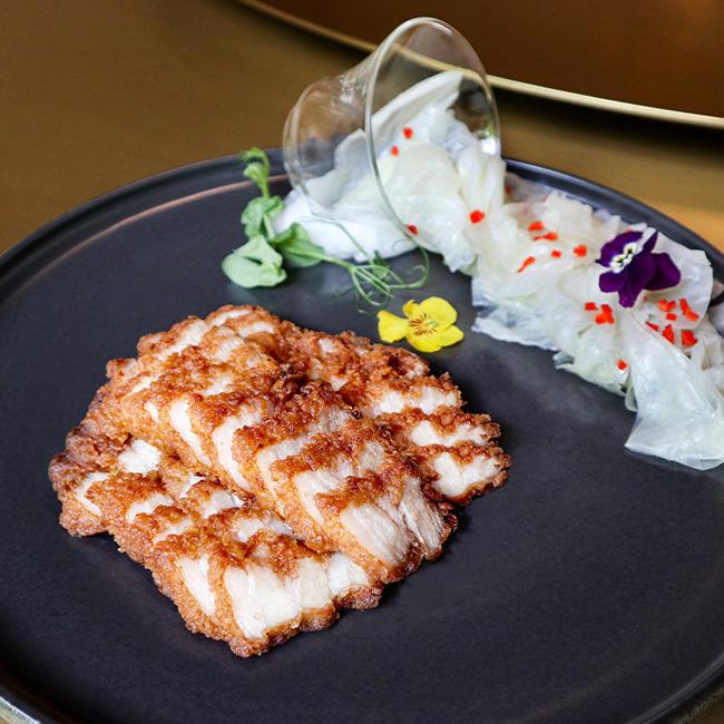 Deep Fried Pork Belly - Goodwood Park Hotel
