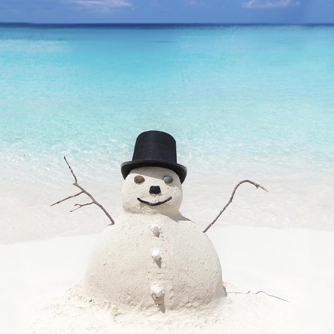 Snowman Daytona Beach