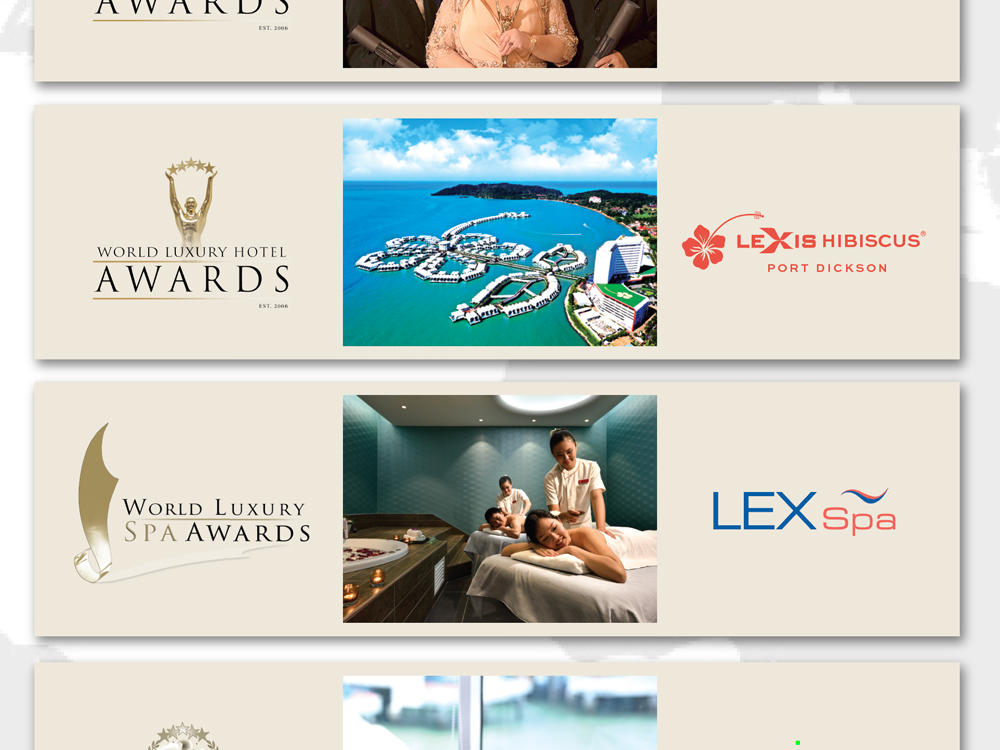 Lexis Hotels Hailed a Triple Threat in Global Hospitality Awards