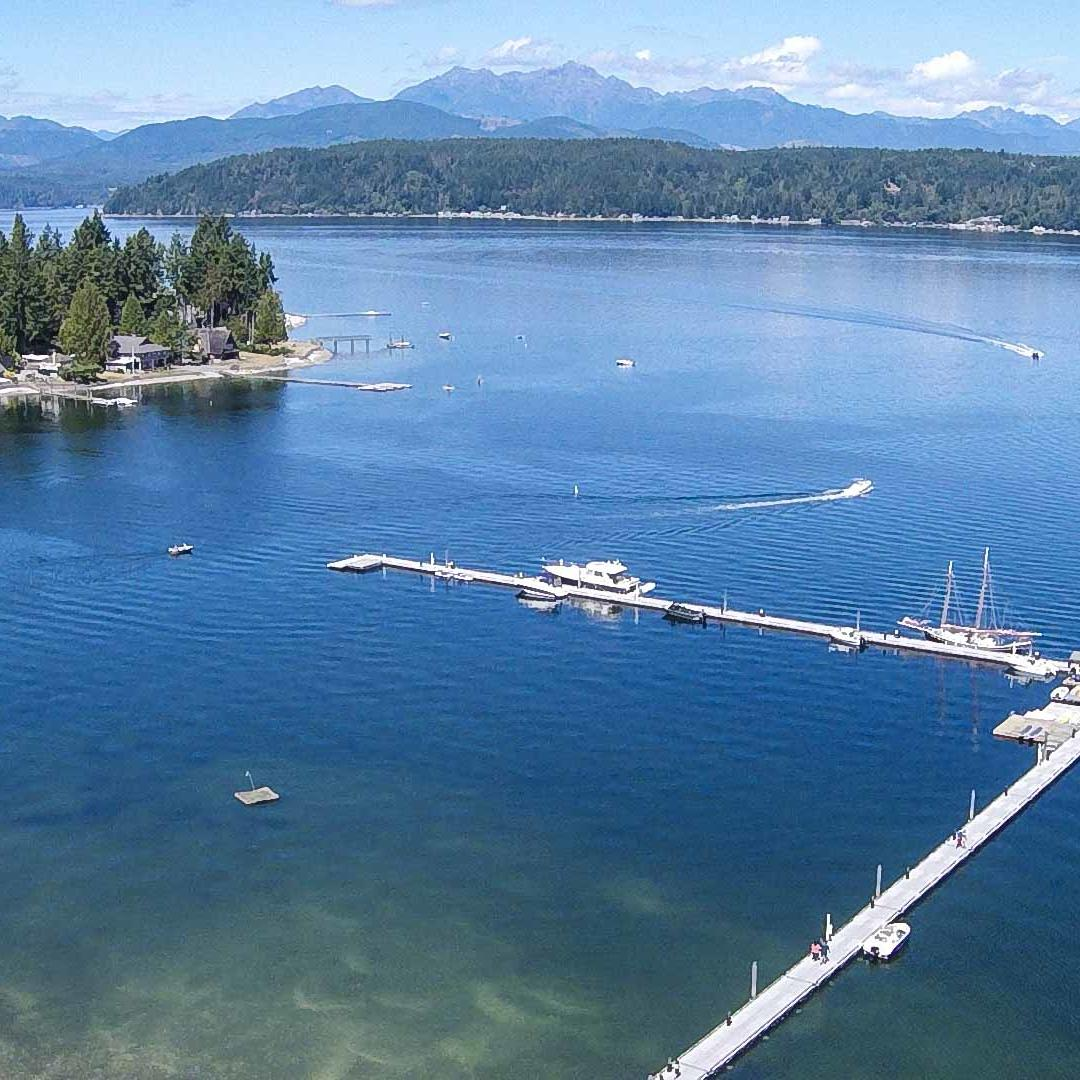 An Image of The Hood Canal at Alderbrook Resort & Spa