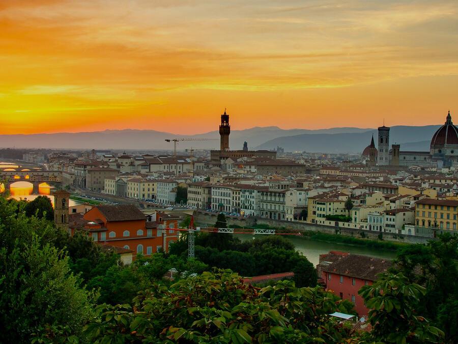 Florentine views: four panoramic spots across the city