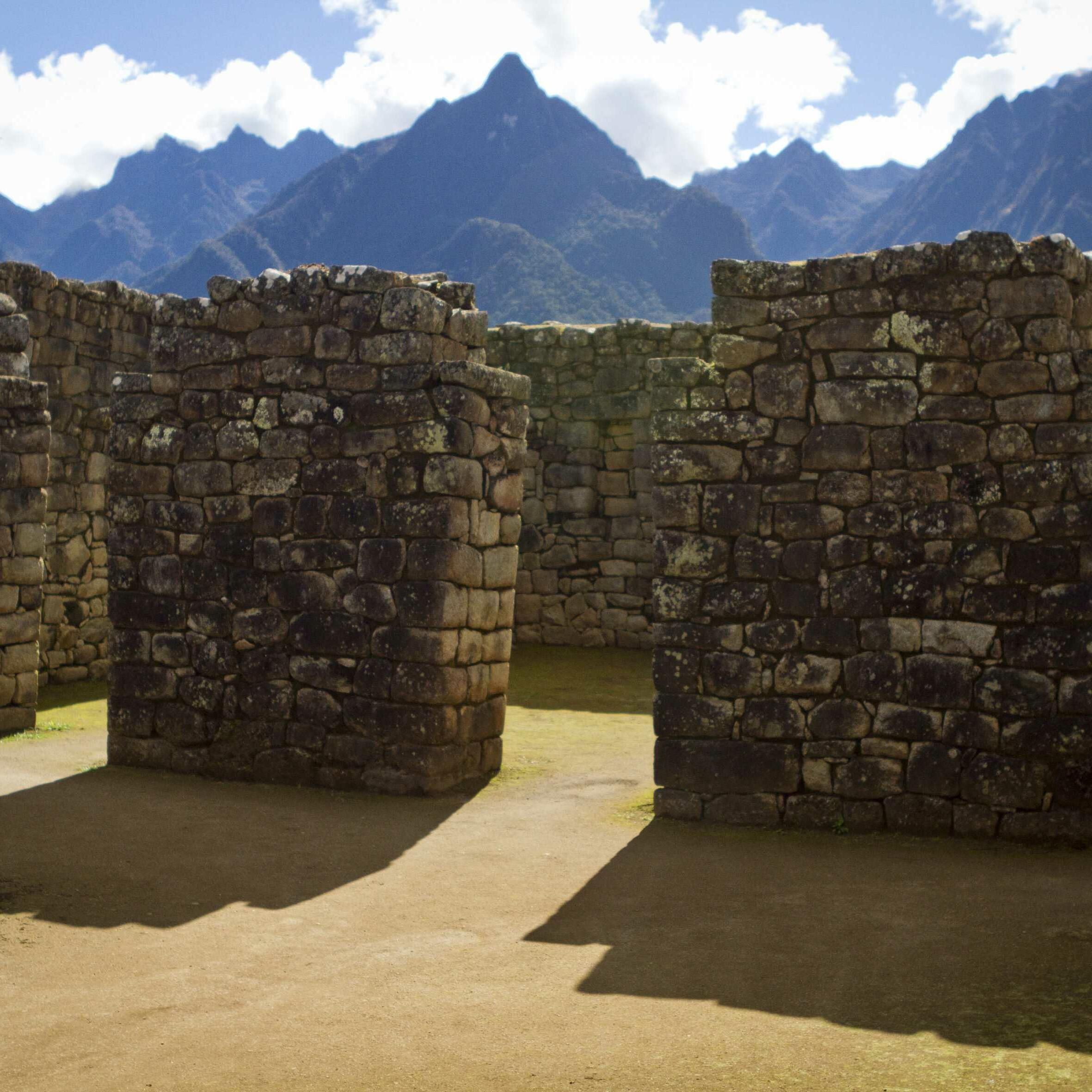 An empty Machu Picchu makes for an authentic Andean experience.