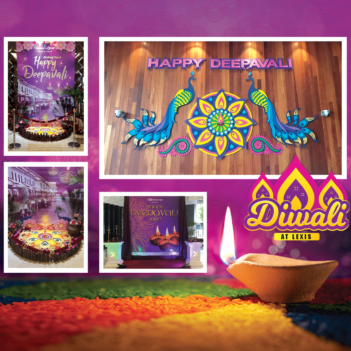 Celebrating the Lights and Hope of Diwali at Lexis Suites
