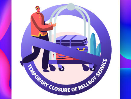 Temporary Closure of Bellboy Service