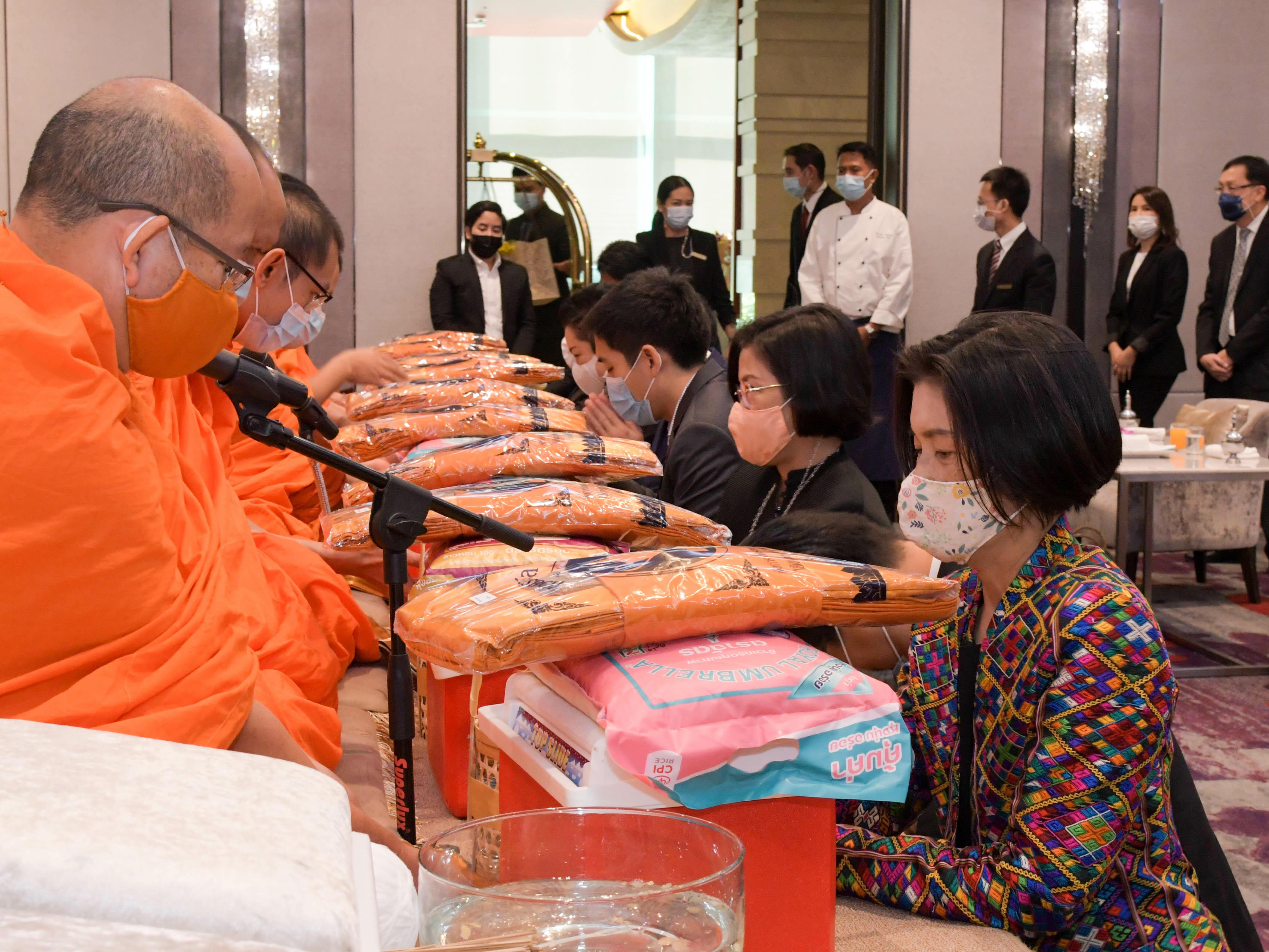 12th anniversary ceremony at Chatrium Hotel Riverside Bangkok