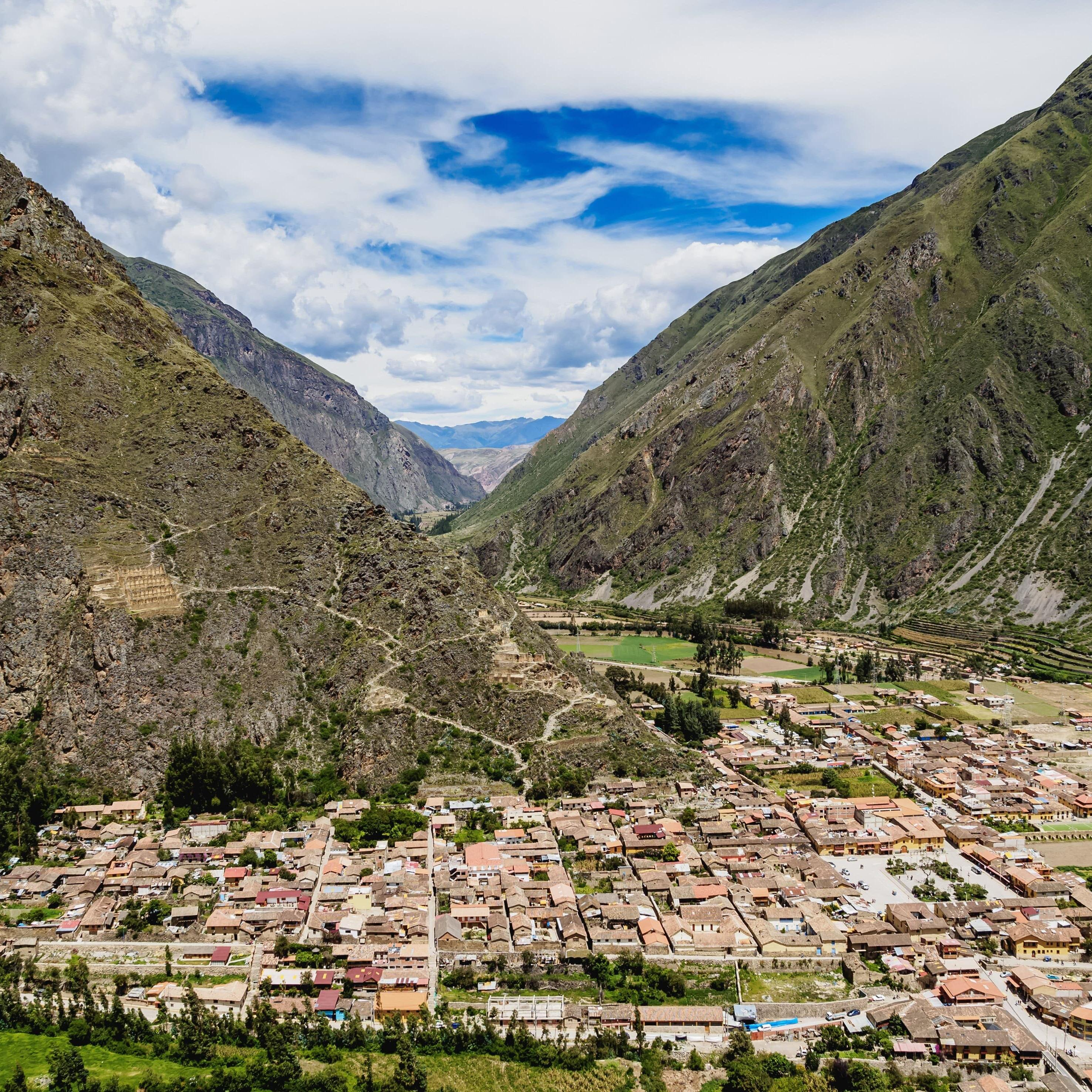 Ollantaytambo in Sacred Valley, Peru