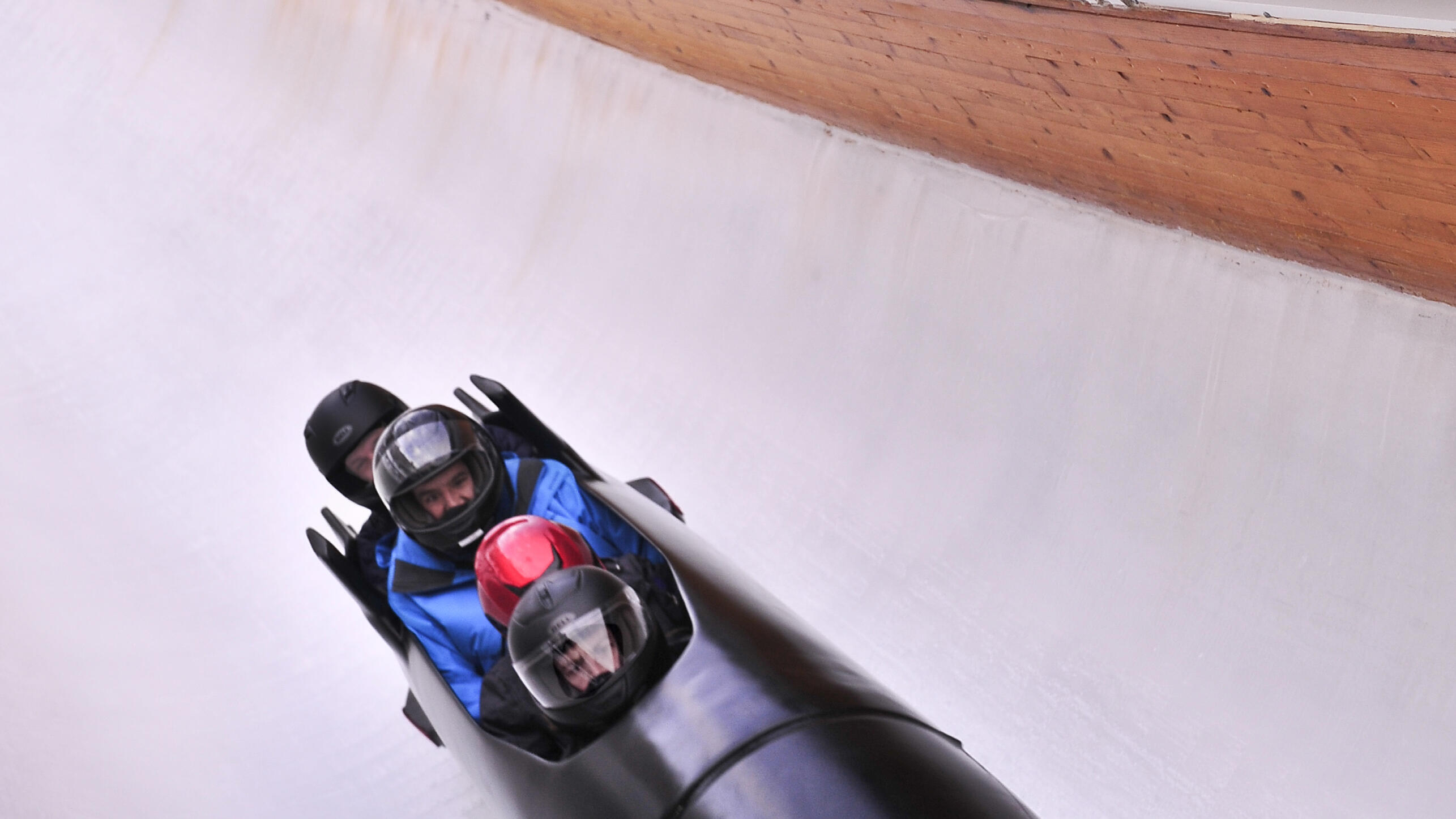 UOP bobsled riders