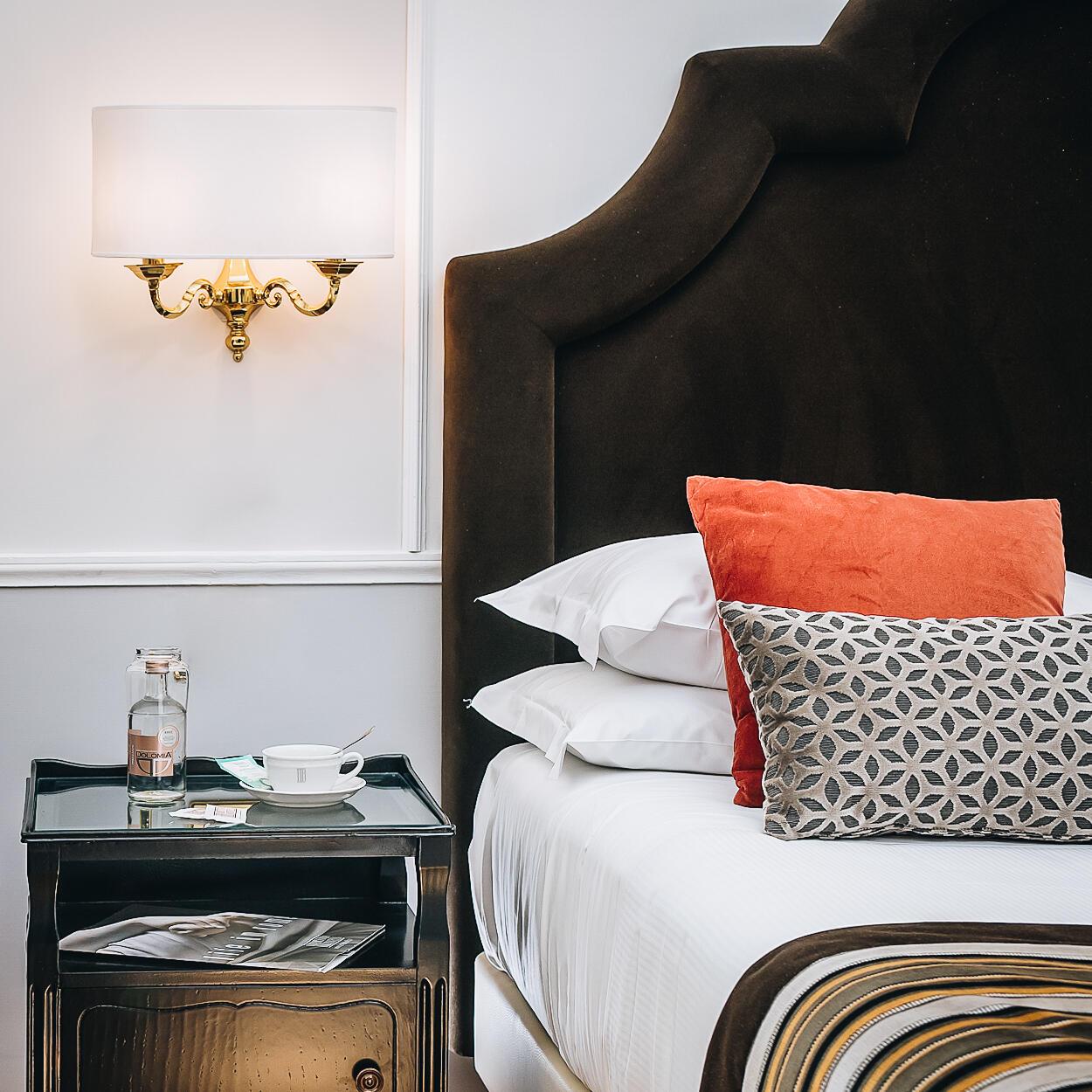 vista di una camera del gruppo Bettoja Hotels