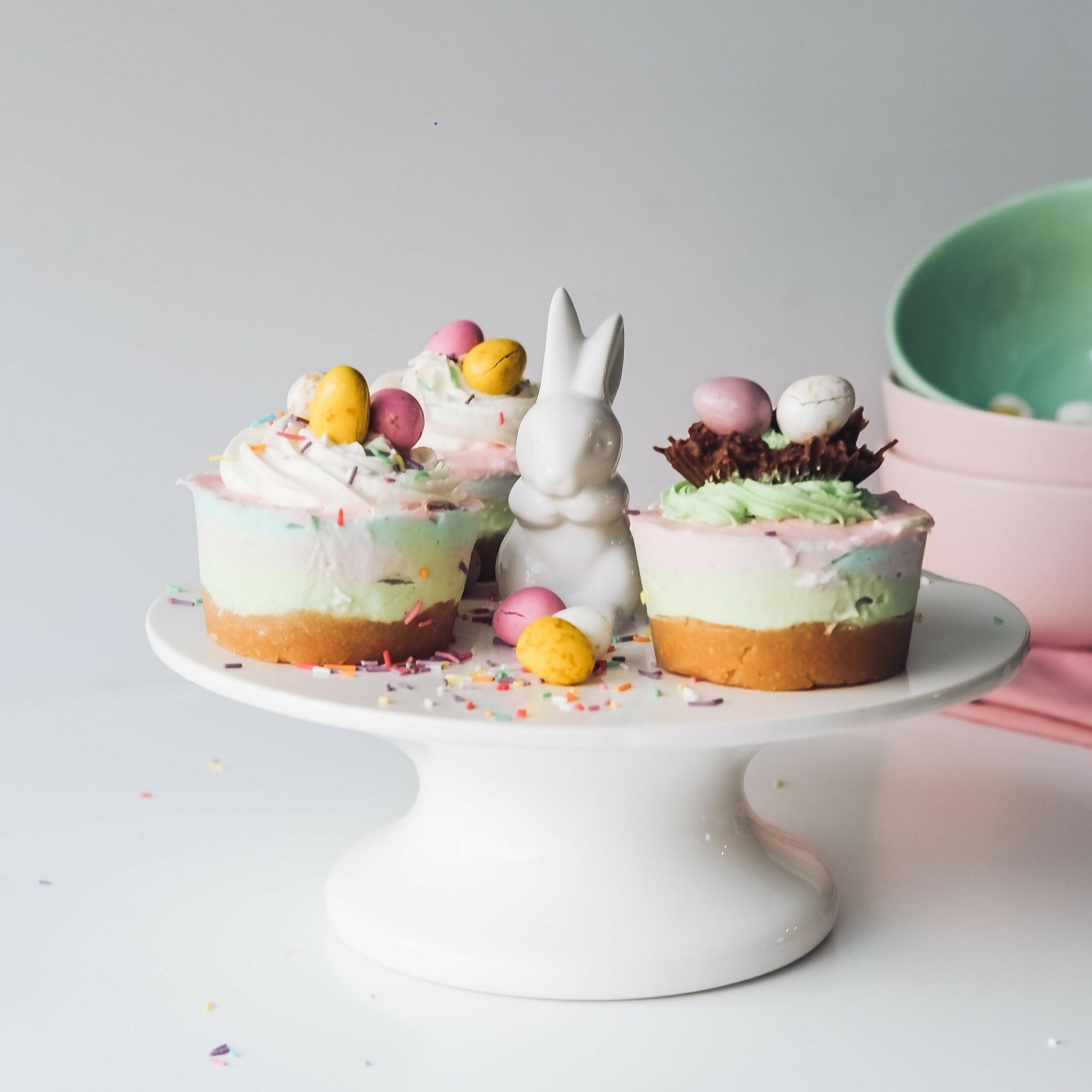 Easter themed cupcakes served at the hotel