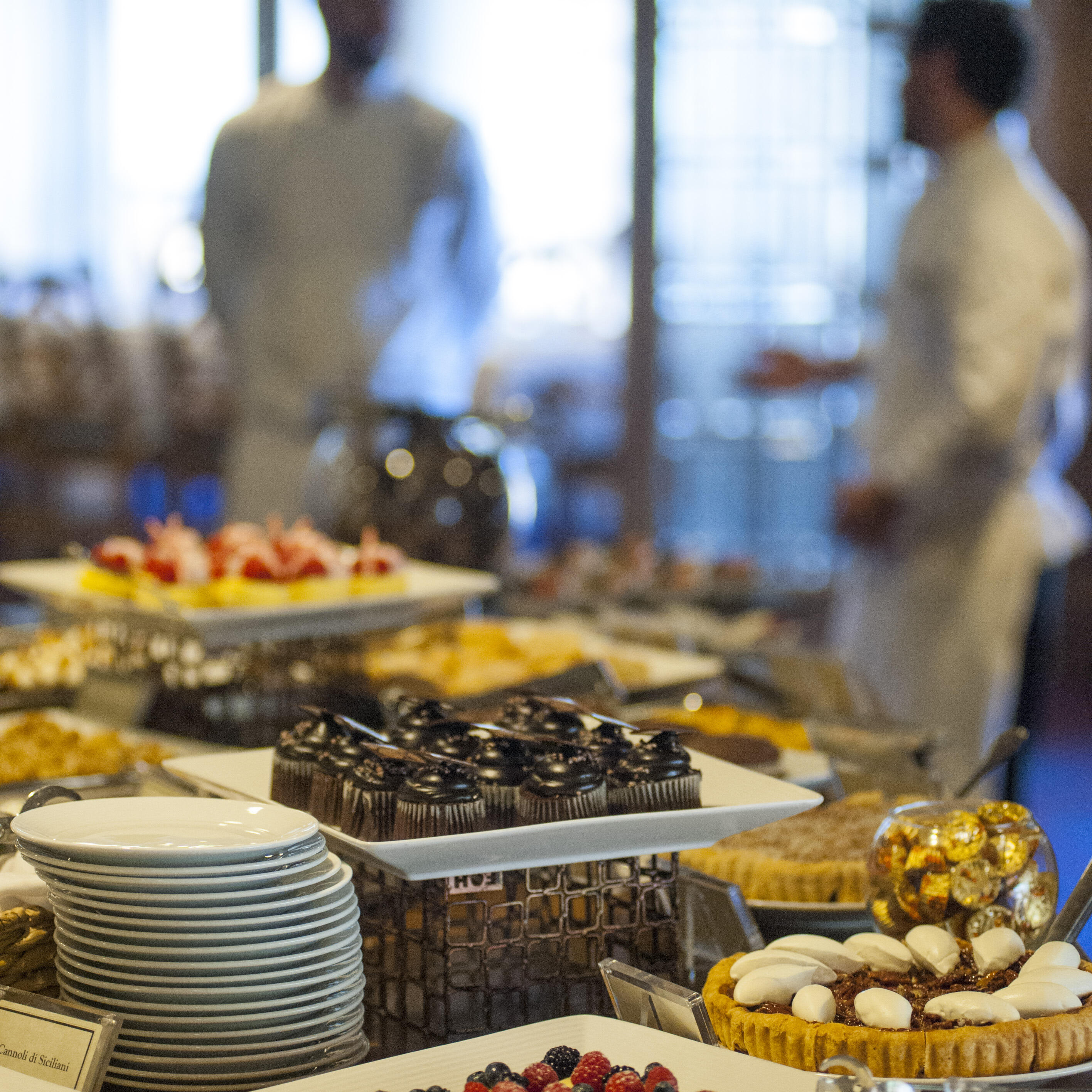 brunch buffet at Glitretind