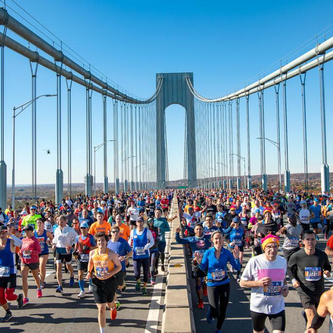 The NYC marathon event image near Dream Hotels NYC.