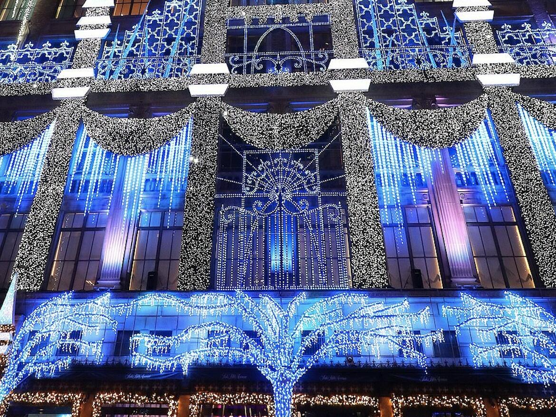 NYC holiday season decoration at Dream Hotel.