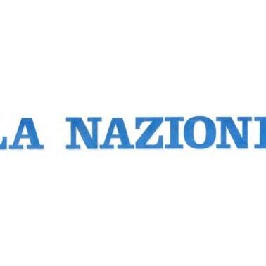 La Nazione name logo at Grand Hotel Minerva