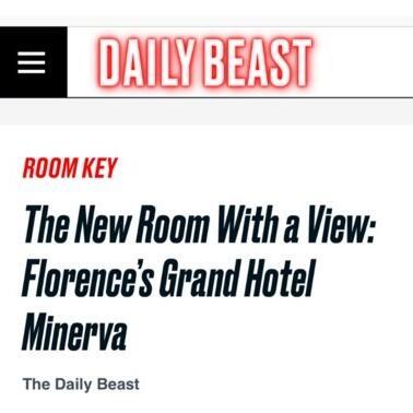 News headline  at Grand Hotel Minerva