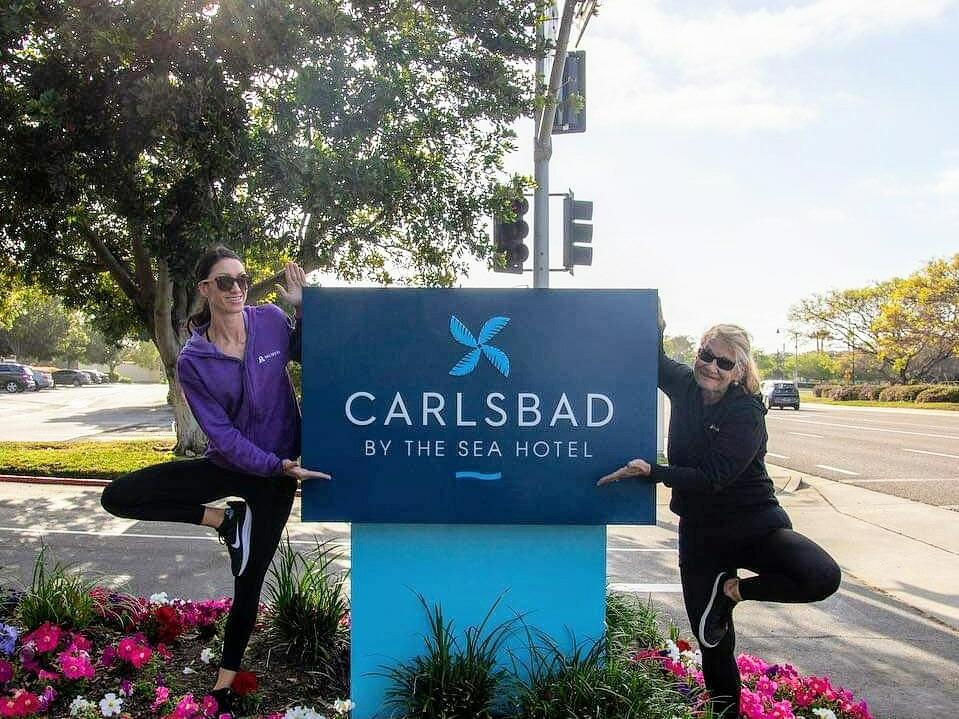 Outdoor Yoga Classes in Carlsbad, CA | Carlsbad by the Sea Hotel