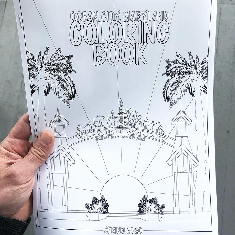 Cover Image of  The Coloring Book for children