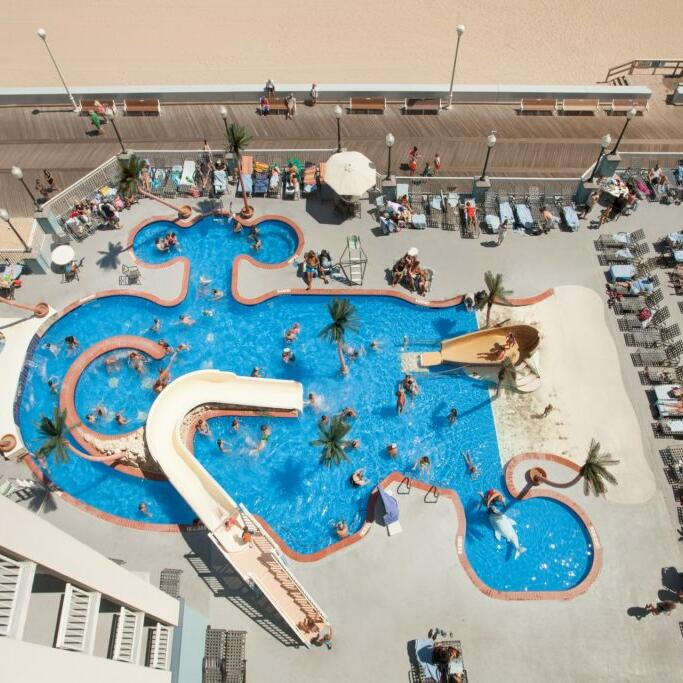Three Refreshing Pools at Holiday Inn & Suites Ocean City