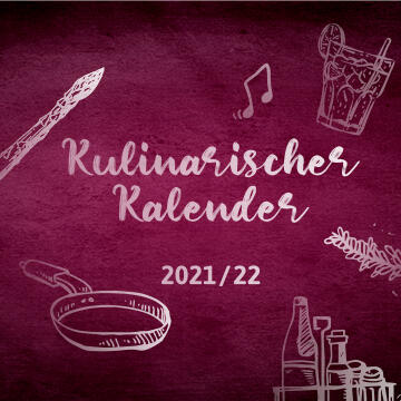 Kulinarischer Kalender Hotel Frankenland Bad Kissingen