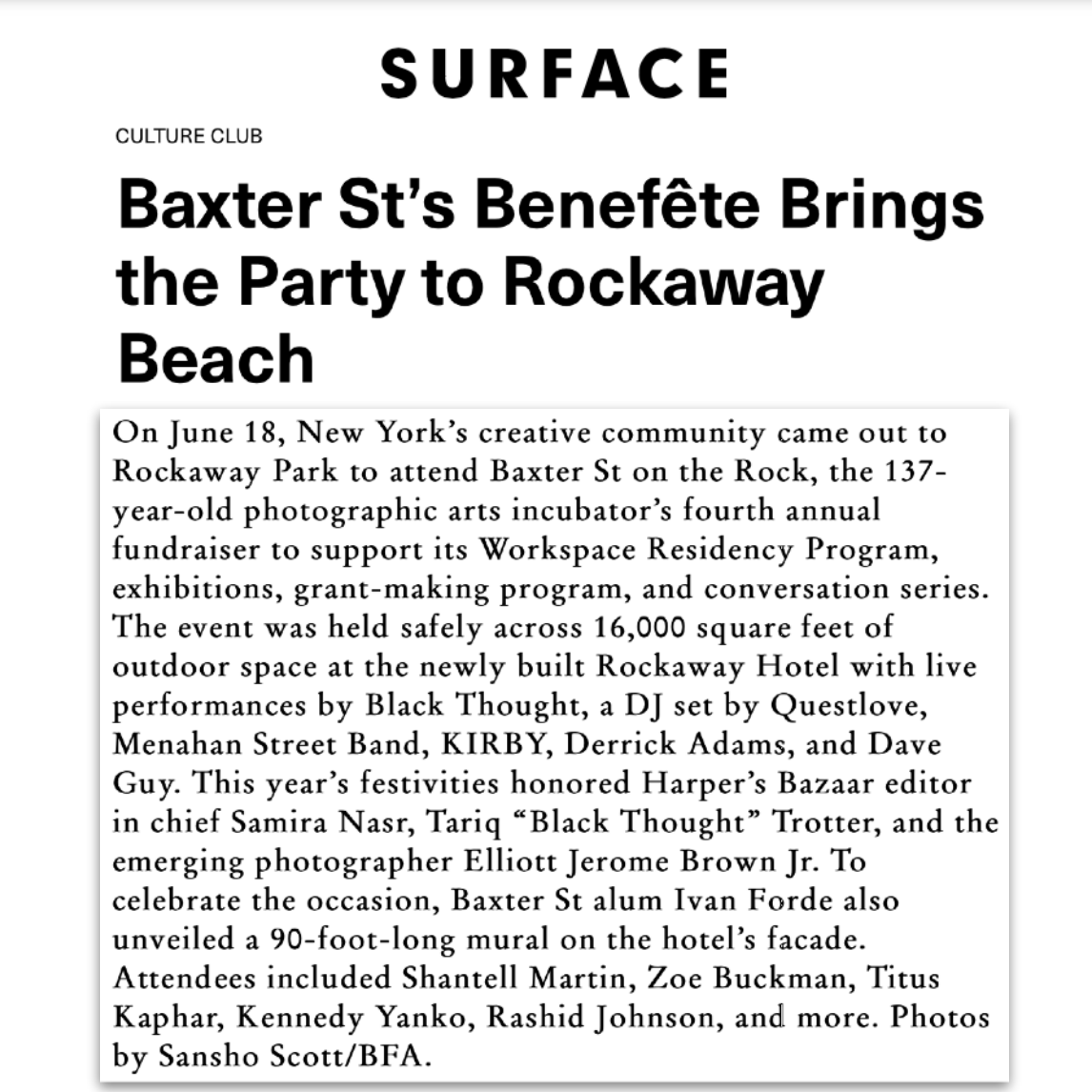 Article about The Rockaway Hotel in Surface By Ryan Waddoups