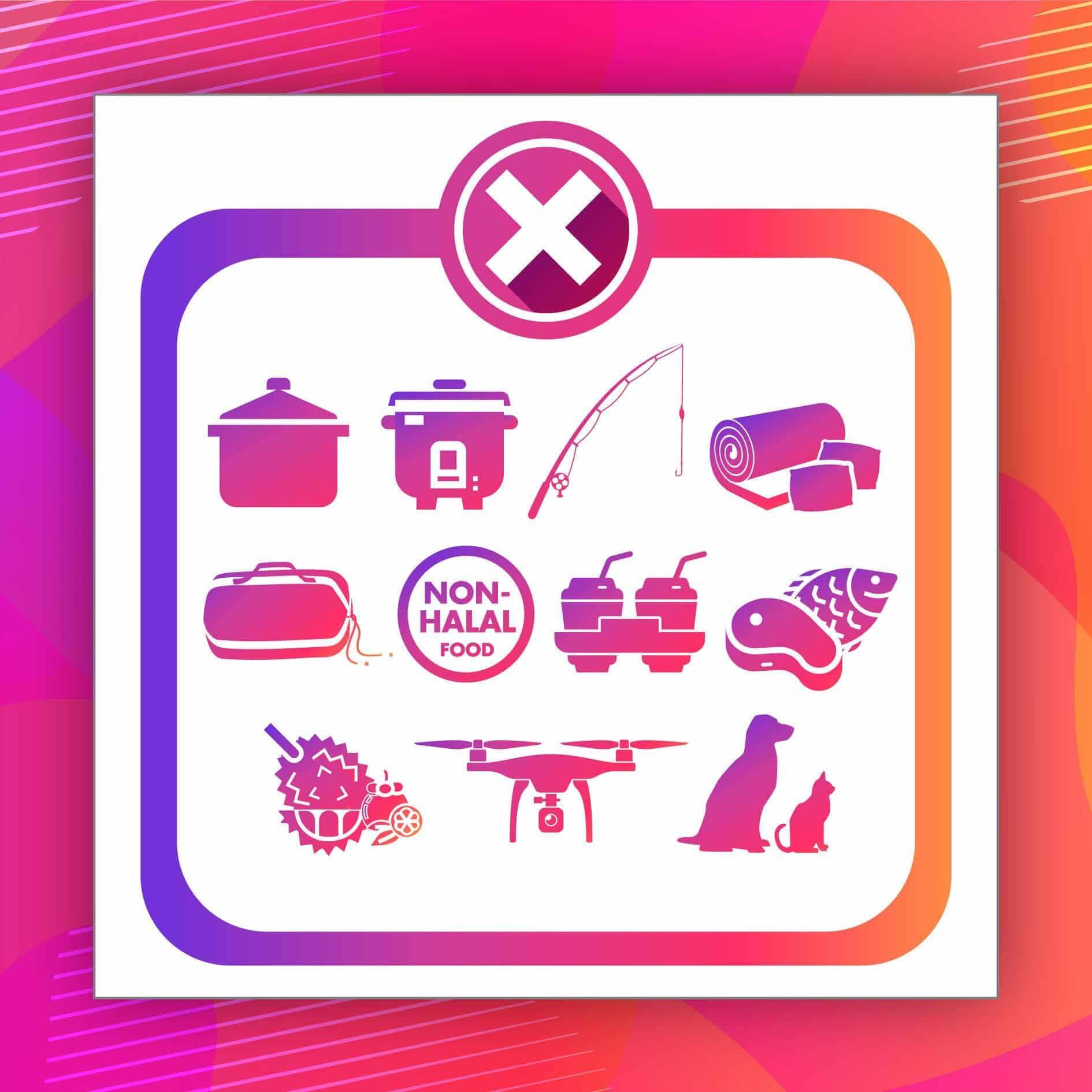News 2020 - Banned Items From Guest Rooms | Lexis Hibiscus® Port Dickson