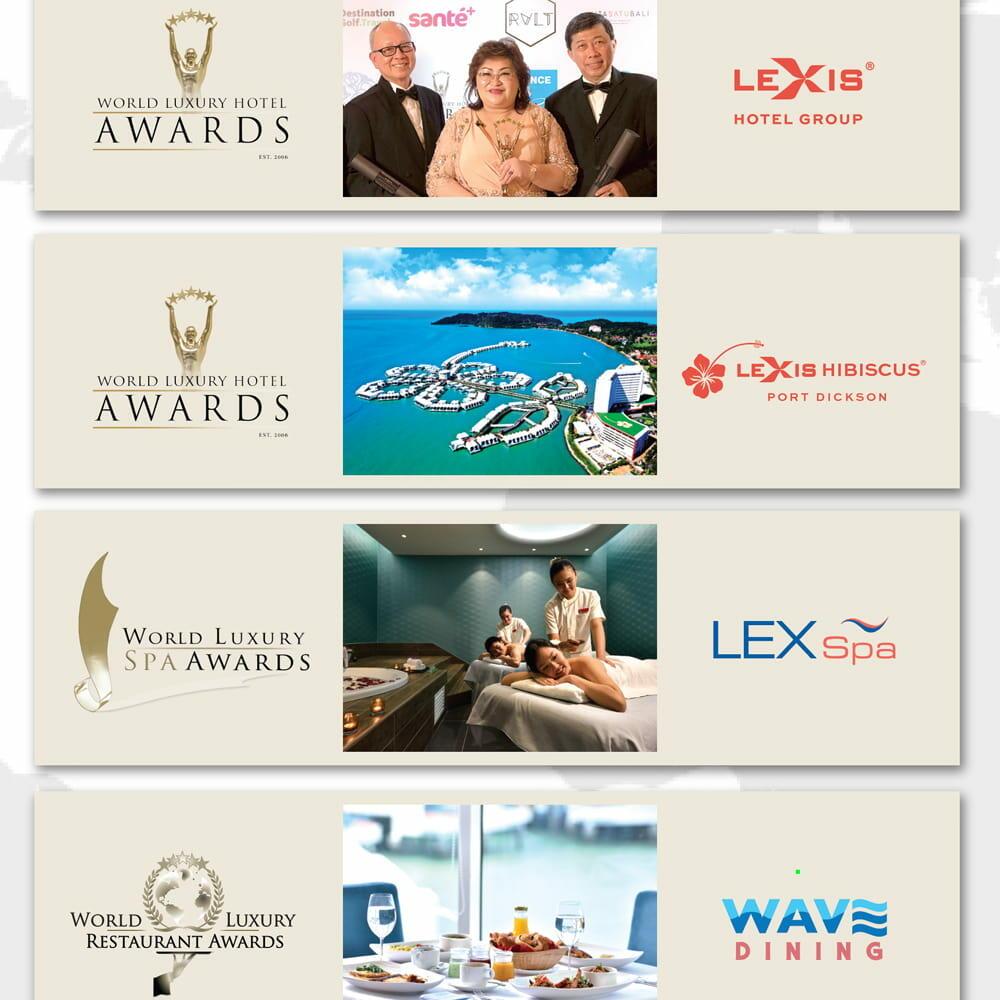 News 2020 - Global Hospitality Awards Title | Lexis® Hotel Group