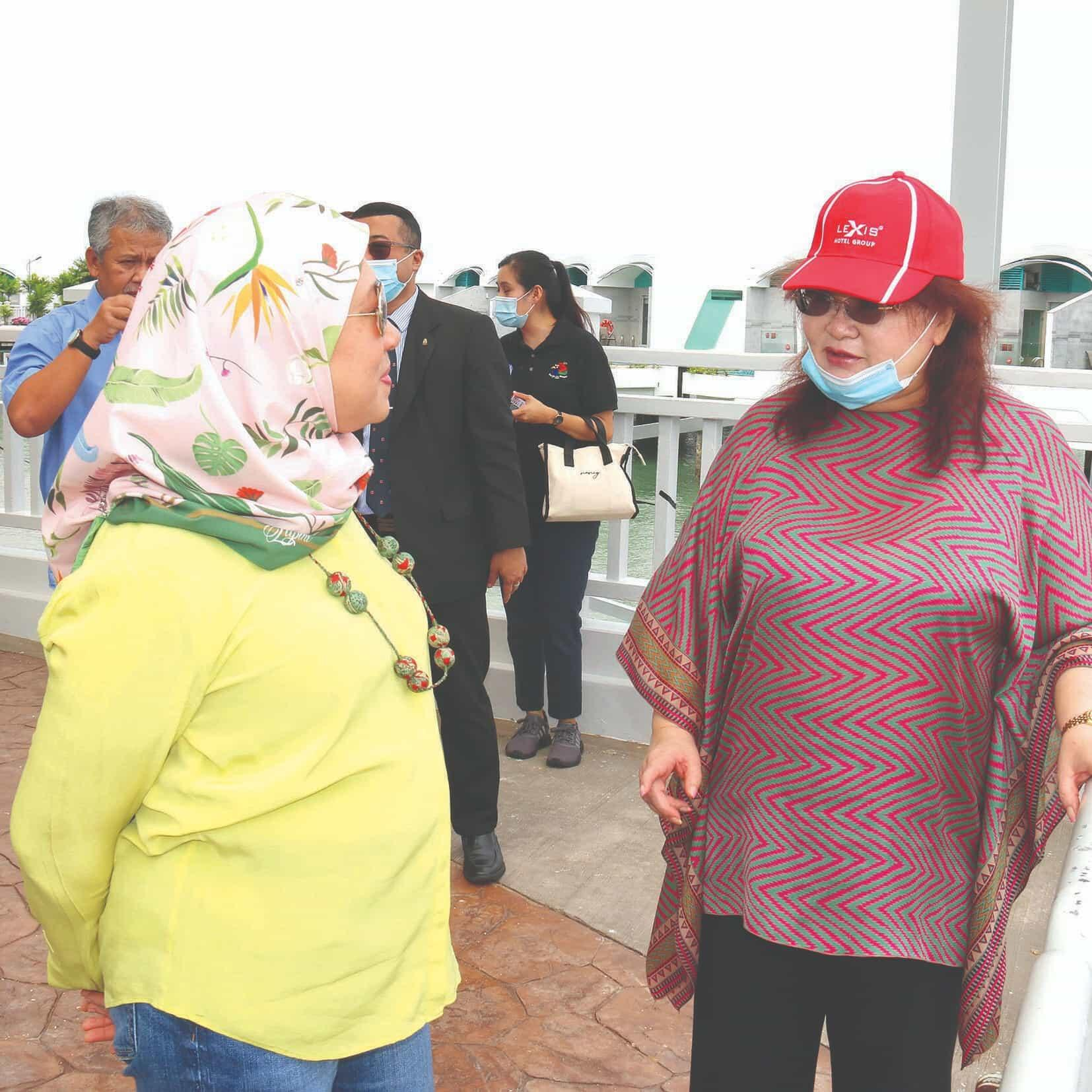News 2020 - Visit by Minister of Tourism, Arts & Culture | Lexis Hibiscus® Port Dickson