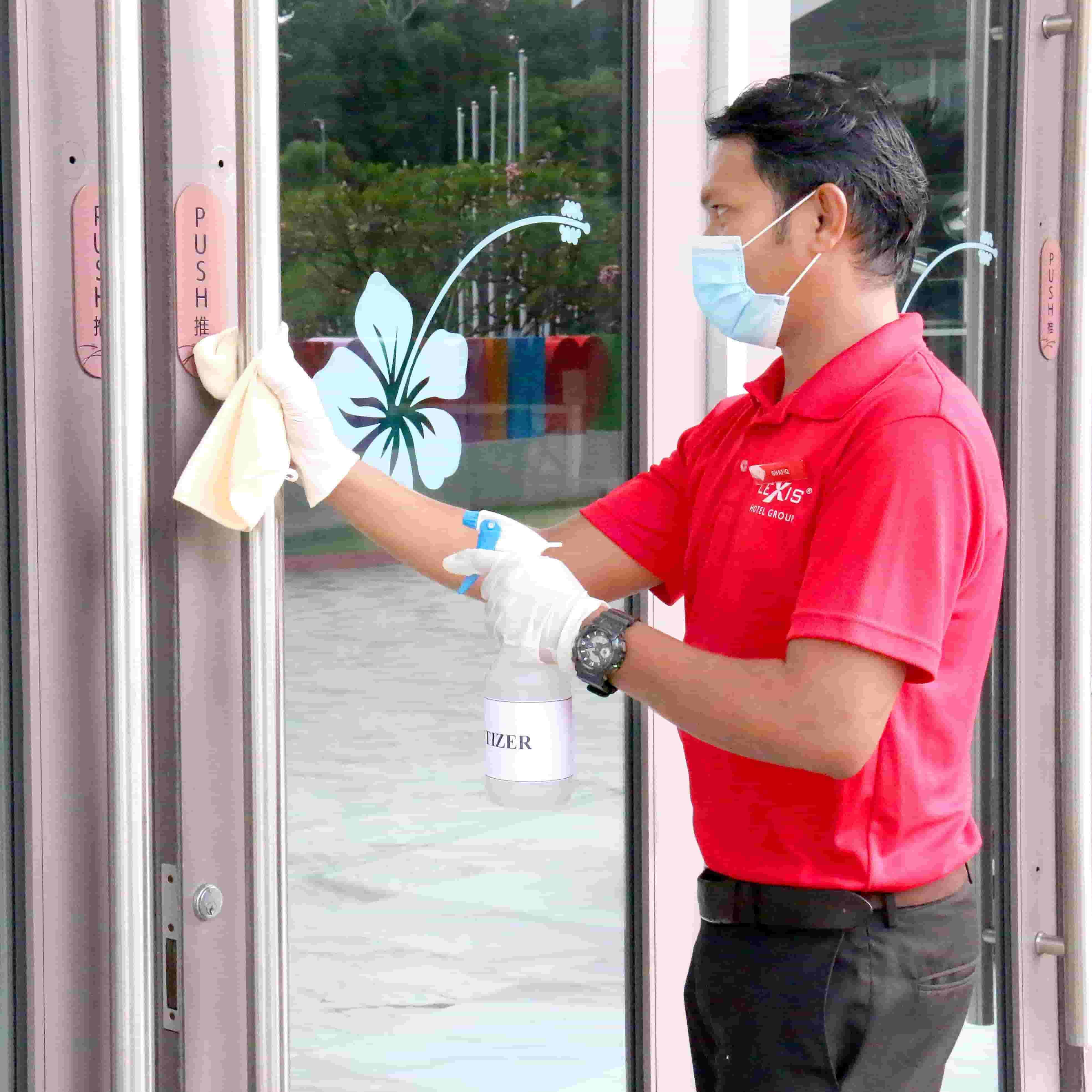 News 2020 - Enhance Cleaning Protocols During MCO | Lexis Hibiscus® Port Dickson