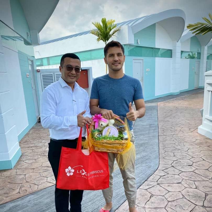 News 2019 - Datuk Seri Aliff Syukri Visits Our Hotel | Lexis Hibiscus® Port Dickson