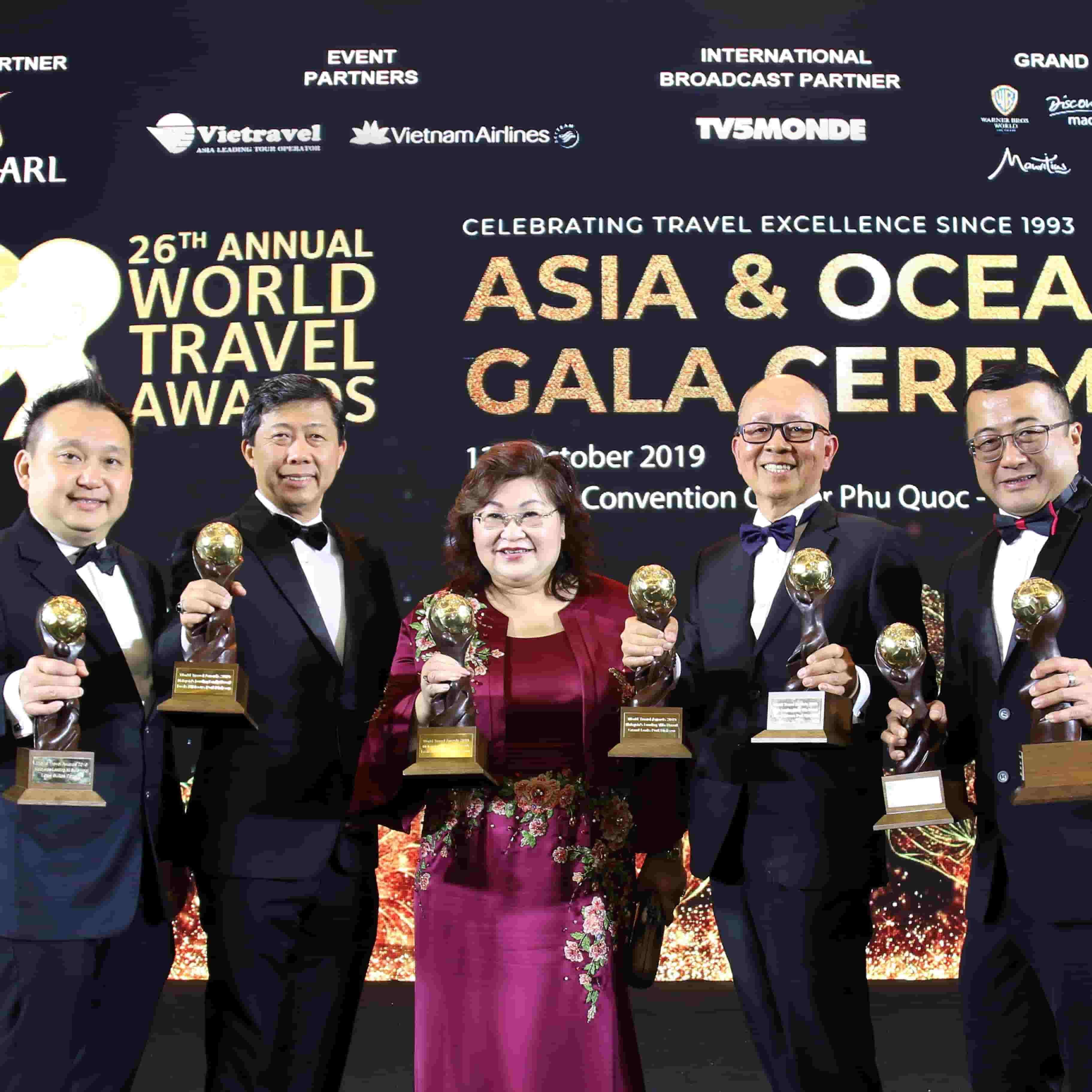 News 2019 - World Travel Awards Achievement | Lexis® Hotel Group