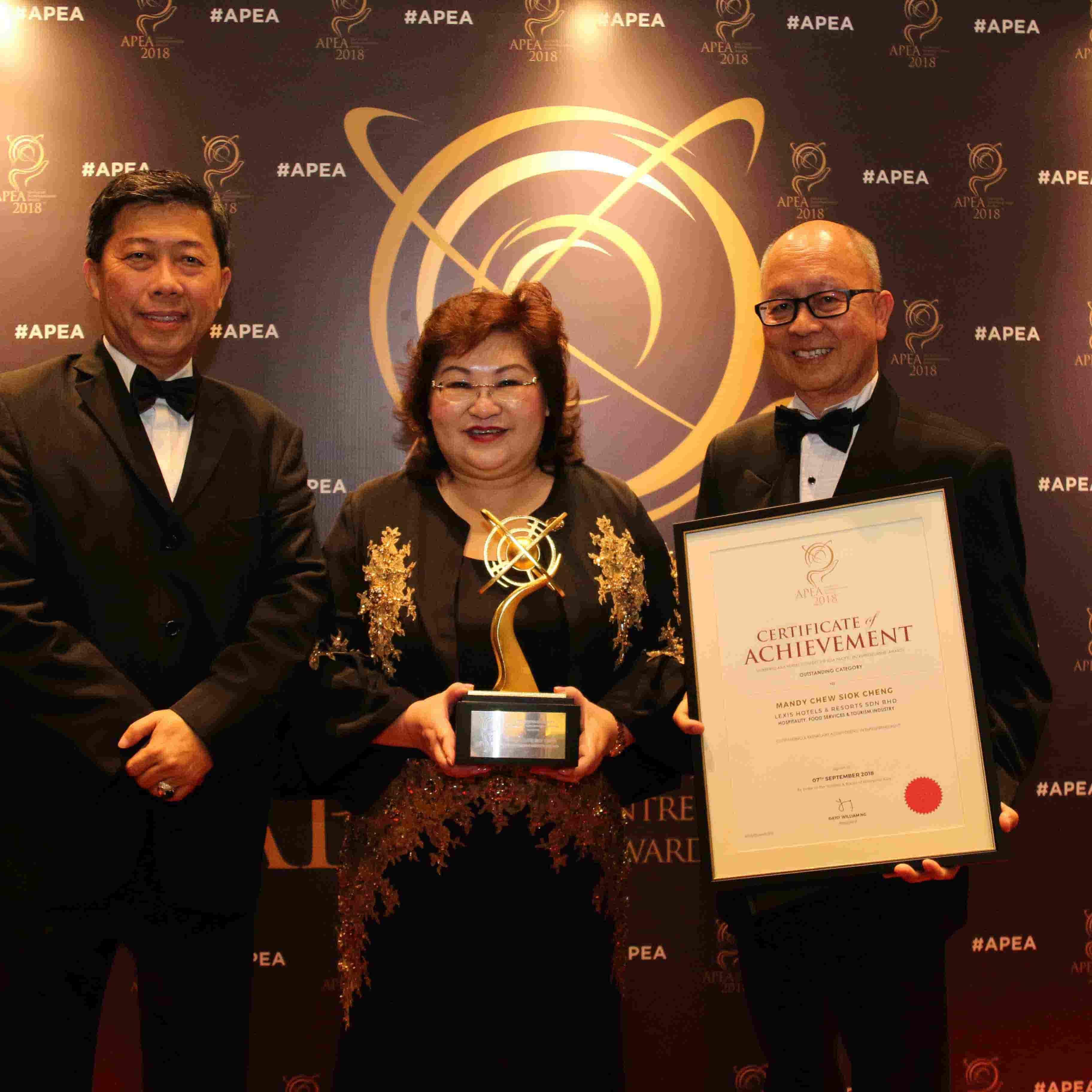 News 2018 -  Entrepreneurial Excellence | Lexis® Hotel Group