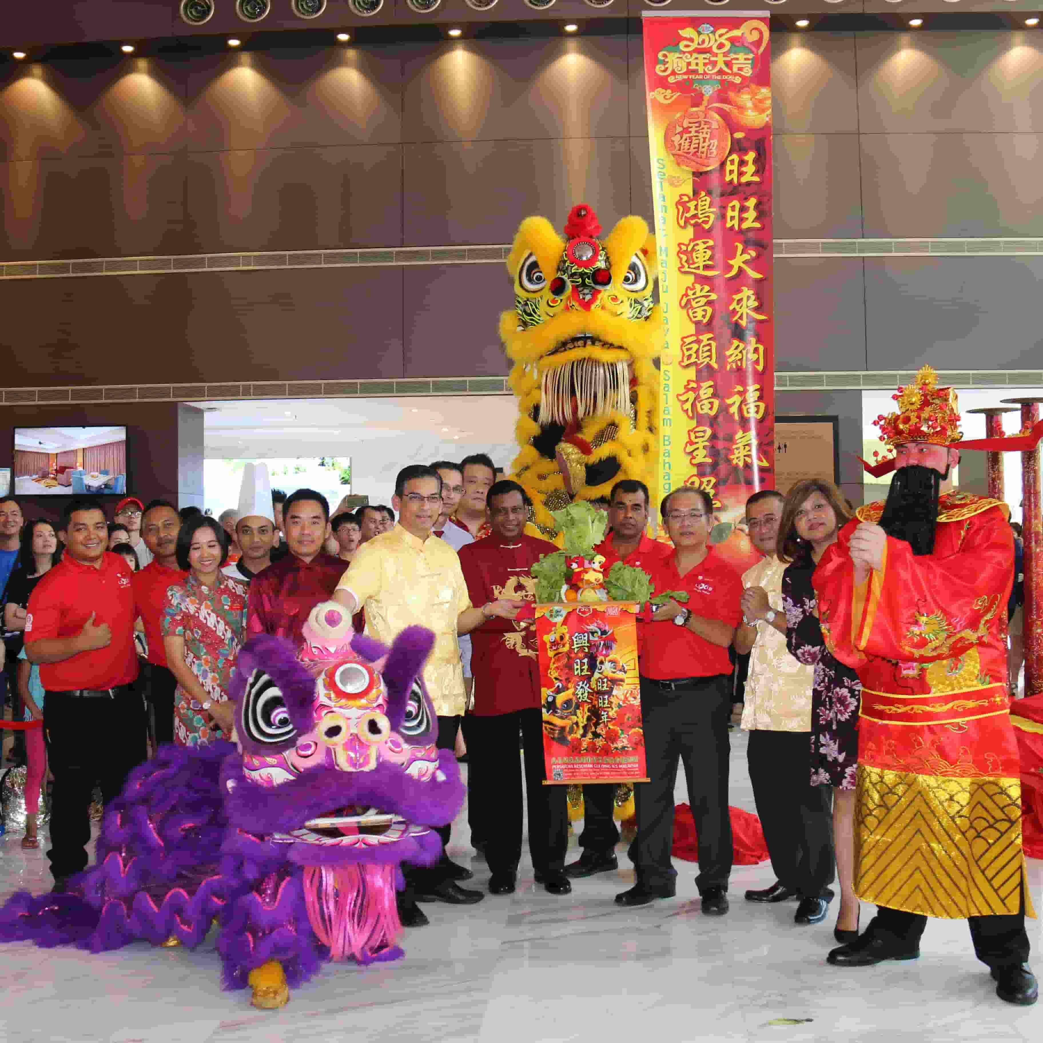 News 2018 - Lion Dance Performance during CNY | Lexis Hibiscus® Port Dickson