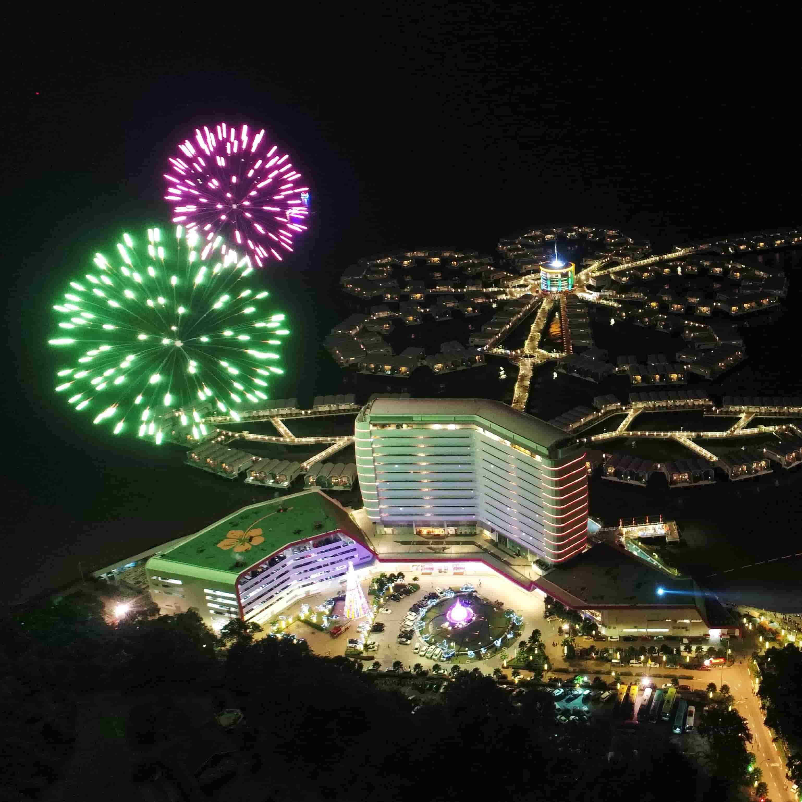 News 2018 - New Year's Eve Countdown Fireworks | Lexis Hibiscus® Port Dickson