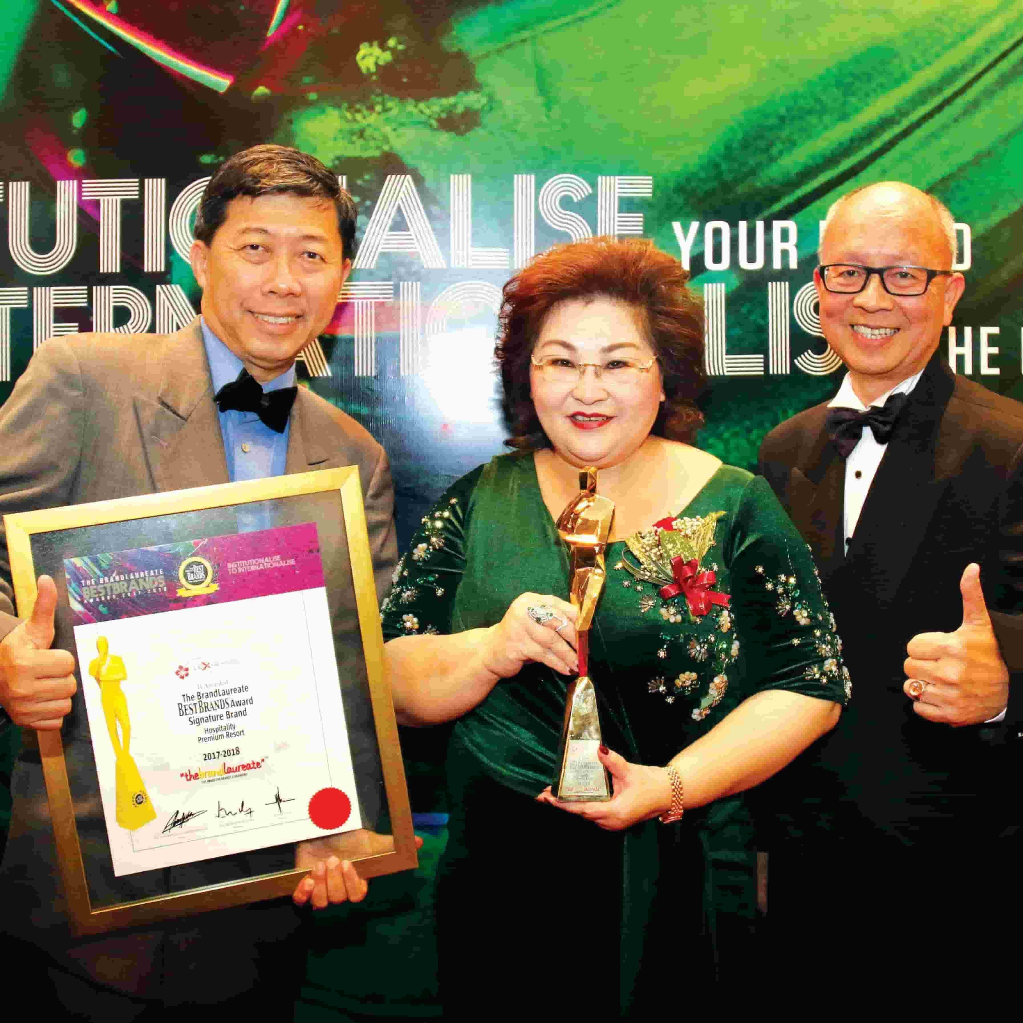 News 2018 - Premium Resort award  | Lexis Hibiscus® Port Dickson