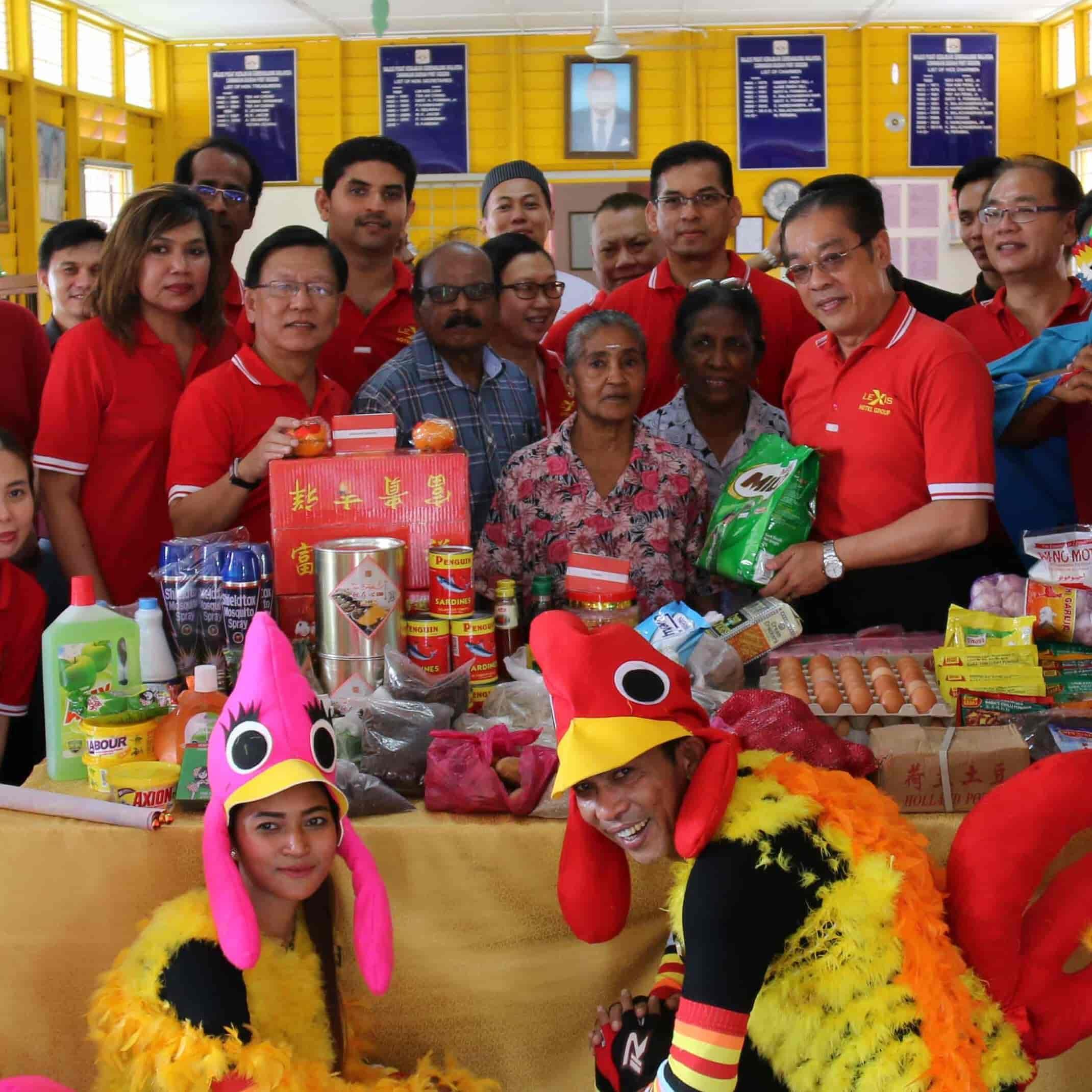 News 2017 - Old Folks Home CNY Feast | Lexis® Hotel Group